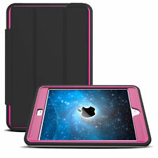 For iPad 2 3 4/Mini /Air /Pro 9.7 Flip Shockproof Hybrid Stand Smart Case Cover