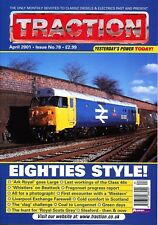 TRACTION Issue 78 APR 2001 Class 46 Final,Fragonset,Liverpool Exchange,Longannet