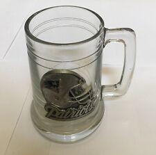 New England Patriots Nfl Football Super Bowl Collector's Fine Pewter Glass Mug