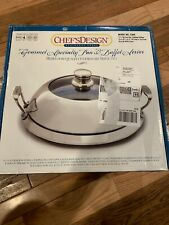 Chef's Design Gourmet Specialty Pan & Buffet Server  18/10 Stainless Steel