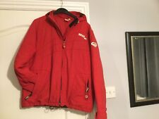 Ladies Roxy Girl Padded Jacket Red Size 14