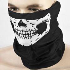 Bandana Tube Camo Skull Face Mask Neck Warmer Multi-Purpose Dust-Shield-Snood