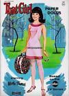 VINTAGE UNCUT 1967 THAT GIRL 'MARLO THOMAS' PAPER DOLLS~#1 REPRODUCTION~FABULOUS