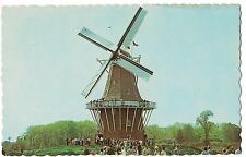 De Zwaan THE SWAN WINDMILL Tourists Mill HOLLAND  MICHIGAN MI Postcard