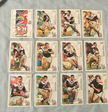 TEN  SETS  OF  2002  SYDNEY ROOSTERS  SELECT  RUGBY LEAGUE CARDS