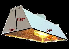 Radiant Air Cooled Reflector Hydroponic