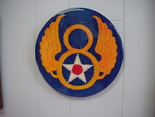 8th USAAF Recognition Plaque, Mint conditon!  Created from WW II 8th AF patch