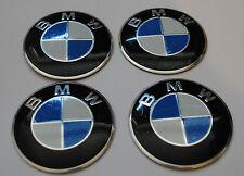 4x CENTRE DE ROUE BMW AUTOCOLLANTS CAP ALUMINIUM haute qualité 60mm