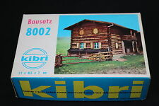 W159 KIBRI Train Maquette Ho 8002 Chalet Edelweiss bois diorama Haus Edelweiß