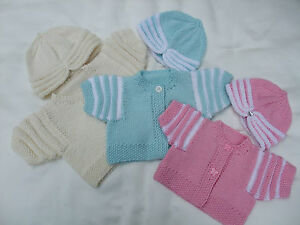 PAPER KNITTING PATTERN TO MAKE *IT'S A COVER UP* 4 COATS & HATS FOR BABY/REBORN
