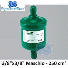"""3S FILTRO DISIDRATATORE 3/8"""" sae 250cm³ SC163MM GMC per GAS R407c R134a R404a"""