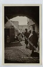 (Ga2839-100) Real Photo of TETOUAN, Calle Hadaden, Morocco c1930 EX