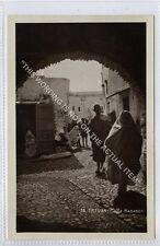 (Ga2839-100) Real Photo of TETOUAN, Calle Hadaden, Morocco c1930 EX