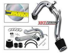 """3"""" JDM BLACK Cold Air Intake Induction Kit + Filter For 08-12 Accord 2.4L L4"""
