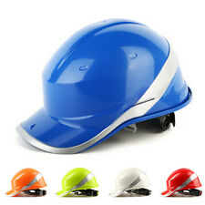 Full Brim Hard Hat Construction Safety Work Helmet Ratchet Suspension Hot