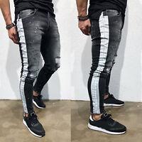 Men Skinny Slim Fit Jogger Sports Casual Running Track Pants Trousers Sweatpants