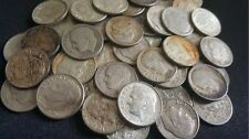 ✯ 90% Silver Roosevelt Dimes Circulated OLD US Estate Coins ✯ 1946-1964 ✯ 1 COIN
