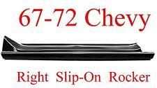 67 72 Chevy RIGHT Slip-On Rocker Panel, Truck, GMC, 1.2MM Thick!!  897-02R