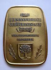 Médaille/plaque -- Hermann-HELBER-gedächtnislauf -- 1966