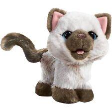 "Hasbro FurReal Friends Kami, mein ""ich-muss-mal-Kätzchen"", Kuscheltier, grau"