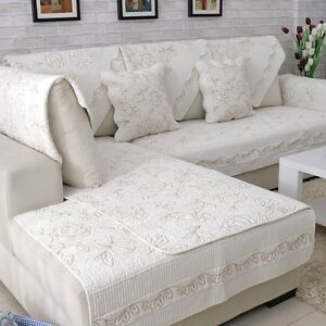 Sofa Mat Couch Furniture Pad Cover Slipcover Dustproof Protector Decor 1PC