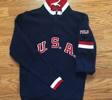 Rare Polo Ralph Lauren Kids USA Sweater Pull Over Size L (14/16) NWOT