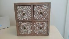 Wooden Set of 4 Drawers
