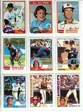 1981 1982 1983 1984 1985 Topps Baseball Complete Your Set U pick 20 MINT Cards