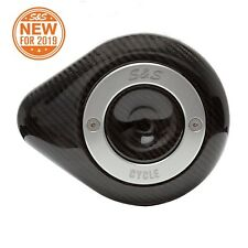 S&S Cycle 170-0501 Carbon Fiber Teardrop Cover for Stealth Air Cleaner Harley