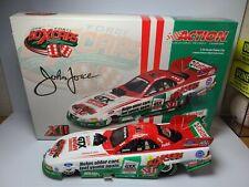 2003 John Force Castrol GTX High Mileage 12X Champion 1:24 NHRA Funny Car MIB