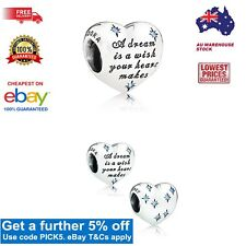 Exclusive & GENUINE Pandora Disney Cinderella's Dream Heart Charm Item 791593CFL