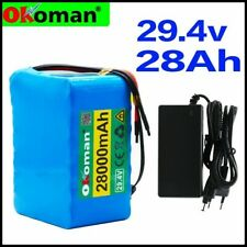 Ebike Battery 28000mAh lithium battery wheelchair electric bicycle 2A charger NE