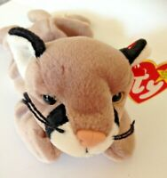 Retired collectable Ty beanie baby Canyon the Cougar-wild cat vgc wt