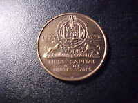 YORK PENNSYLVANIA FIRST CAPITAL OF THE UNITED STATES TOKEN!   CC73UCX
