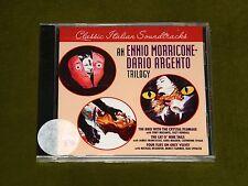 BIRD WITH THE CAT O NINE FOUR FLIES Ennio Morricone Dario Argento TRILOGY OST CD
