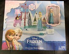 NIB Disney Frozen Elsa's Ice Skating Rink Play Set from Mattel Toy Figures