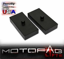 "99-17 Ford F250 F350 1"" Rear Lift Blocks SuperDuty Kit 2WD & 4WD Made in The USA"