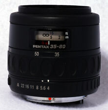 SMC PENTAX-F 1:4-5.6 35-80mm Lens - Good Pre-Owned Working Condition