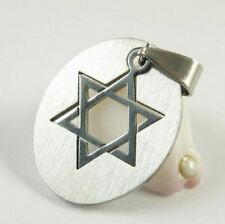 Star of David stainless steel cut necklace, Messianic Jewish Interest! Yeshua!