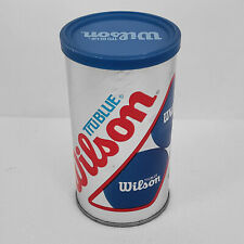 Vintage Wilson TruBlue Racquetballs 2 Pack New Sealed Can Made In The Usa