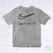 NEW Tee Shirt Cant Do It Kid BIO Child Hand Writing Try Hype Vetement Swag