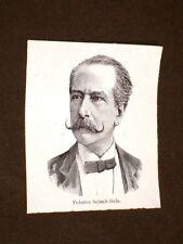 Federico Seismit-Doda di Ragusa di Dalmazia Morto nel 1893