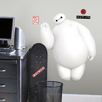 BAYMAX Giant WALL DECALS White Big Hero 6 Movie Stickers Kids Bedroom Decor