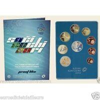 Set BE SLOVAQUIE 2014 - Jeux Olympiques Sochi - 1 cent à 2 euros Belle Epreuve