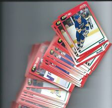 1991-92 Score series 1 English hockey complete your set 20 card lot,stars incl