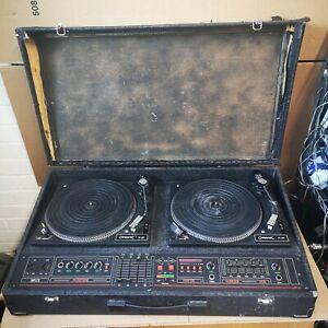 Citronic Mcgregor Vintage Disco DJ Double Deck Console CL-12D decks