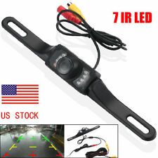 Car Rear View Backup Camera Parking Reverse Back Up Camera Waterproof COMS 7 LED