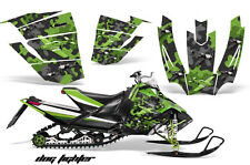 AMR Racing Sled Wrap Arctic Cat SnoPro Race Snowmobile Graphics Kit 08-11 DF GRN