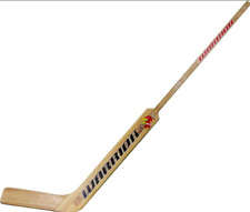 "New Warrior Woodrow 21"" junior Goalie Stick right hand RH Emery wood"
