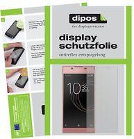 2x Sony Xperia L1 Film de protection d'écran protecteur antireflet dipos